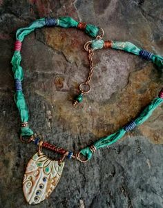 Check out this item in my Etsy shop https://www.etsy.com/listing/609476608/primitive-rustic-necklace-boho-chic