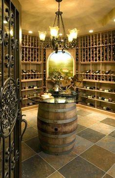 Good Looking Diy Wine Cellar Decoration Ideas. Attractive Diy Wine Cellar Decoration Inspiration With Wine Cellar Basement, Home Wine Cellars, Wine Cellar Design, Farmhouse Side Table, Tuscan Decorating, Italian Wine, Tasting Room, Tasting Table, Wine Storage