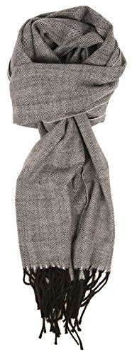 Love Lakeside-Men's Cashmere Feel Winter Plaid Scarf Herr…