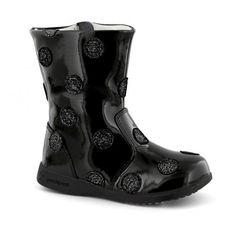 Cizme pentru fete, marca pediped. Fall Winter, Autumn, Black Boots, Rubber Rain Boots, Girls, Shoes, Fashion, Fall Season, Little Girls