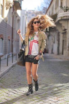 Conquistador, The New Wave, Nike, Lisbon, Punk, Hipster, Street Style, Football Girls, Blog