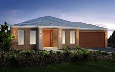 With designer kitchen, walk-in butler's pantry for additional preparation and storage. Choose Santorini home for flexible family living with kids! House Facades, Facade House, Queensland Australia, South Australia, Santorini, Display Homes, Ideal Home, Gazebo, Kitchen Design