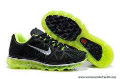 Discounts Black Metallic Cool Grey Volt Mens 429889-007 Nike Air Max 2011