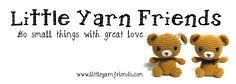 Little Yarn Friends • Crochet Pattern: Lil' Fluffy Unicorn (Despicable Me)