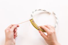 DIY wrapped rope statement necklace