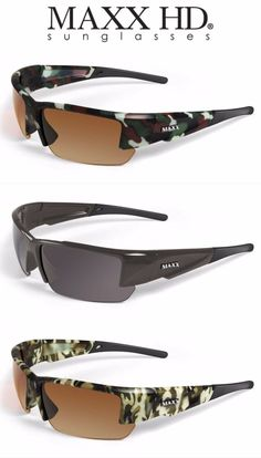 2bb171b00424a Maxx Stealth 2.0 Polarized Sunglasses Free Microfiber Bag Included Select  Models