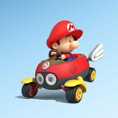 Baby Mario- Mario Kart 8