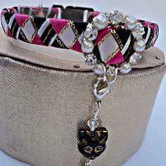 Hey, I found this really awesome Etsy listing at https://www.etsy.com/listing/81326785/cat-collar-breakaway-pink-tartan-effect