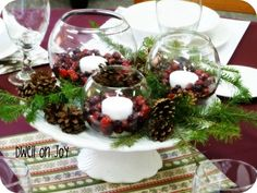 Dwell on Joy: Christmas Tablescape On a Budget