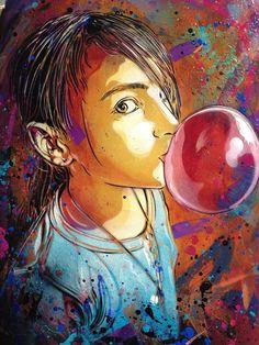 Mural by C215