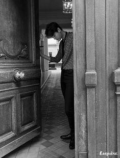 Lee Jong Suk Looks Reflective For November Esquire Jung Suk, Lee Jung, Asian Actors, Korean Actors, Young Male Model, W Two Worlds, Han Hyo Joo, Yoo Ah In, Seo Joon