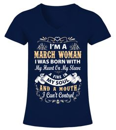 # March Woman T Shirt .  March Woman T ShirtMarch Woman T ShirtHOW TO ORDER:1. Select the style and color you want:2. Click Reserve it now3. Select size and quantity4. Enter shipping and billing information5. Done! Simple as that!TIPS: Buy 2 or more to save shipping cost!This is printable if you purchase only one piece. so dont worry, you will get yours.Guaranteed safe and secure checkout via:Paypal | VISA | MASTERCARD Additional styles and colours