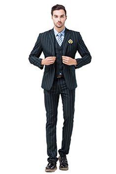 POSHAWN Men's Slim Fit Notch Lapel Three Piece Suit Set Medium POSHAWN http://www.amazon.com/dp/B00RRGOPNI/ref=cm_sw_r_pi_dp_Vip0vb0QKQSMX