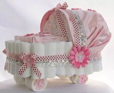 Carriage Baby Shower
