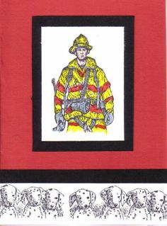 Fire Chief Birthday! by dbeattie - Cards and Paper Crafts at Splitcoaststampers