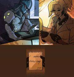 Genji Mercy letter<<<HAHAHA I found this too funny XD