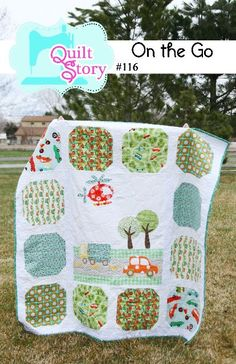 PATTERN On the Go baby boy Quilt. $8.00, via Etsy.