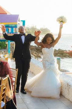 Destination Caribbean Beach Wedding Elopement in Compass Point Bahamas couple from Los Angeles Martina Martina Micko | Snippet & Ink