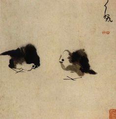 """Résultat de recherche d'images pour """"les oeuvres de Zhu Da 1626 1705"""""""