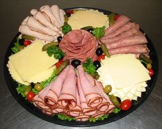 deli platter for super bowl party