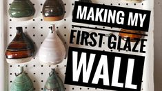Making my first glaze test tile wall. Glazed Walls, Pottery Videos, Pottery Barn Inspired, Mercury Glass, Wall Tiles, Ceramics, Make It Yourself, Confused, Youtube