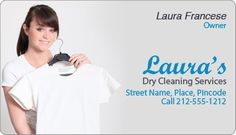 A powerful promotional token for dry cleaning and laundry services, home and office cleaning services, carpet cleaning services, housekeeping services and many others. #DryCleaners #BusinessCard #promotional #Magnets #freeshipping