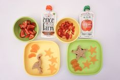 Toddler food pouches