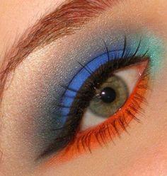 Summer eyeshadow-maybe add a little teal?
