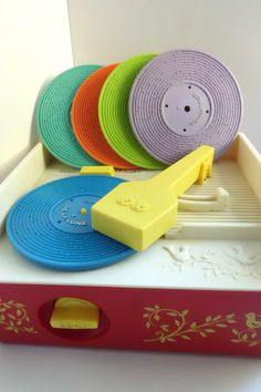 Fisher Price Music Box Record Player 1971 by TimelessToyBox, $39.95// for Blake??