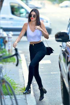 """ ""July 22, 2016 - Arrriving at Kanye's apartment in Soho, NY."" """