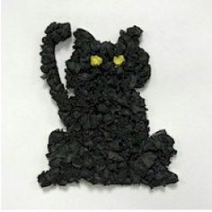 Tissue Paper/Black Cat-Always a favorite of mine when I was in elementary school.