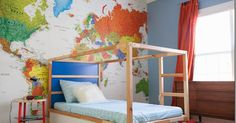 Design Addict Mom: A Map Mural for Zion.