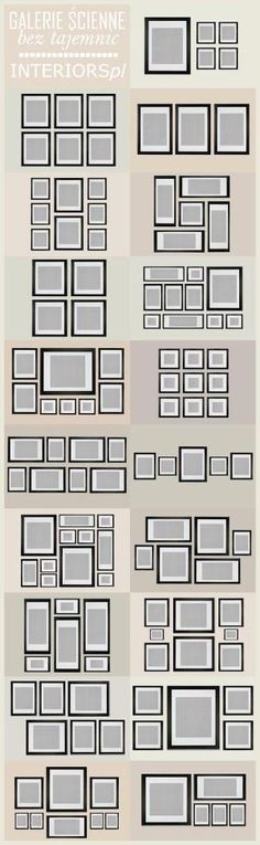 How to Create the Perfect Gallery Wall.  Gallery walls create a neat and streamlined look when you have a bunch of frames that you'd like to hang on the same wall. Instead of hanging them sporadically on a wall, use these guides to create the perfect gallery wall. by sscott