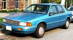 1989 Plymouth Acclaim 4-Door Sedan