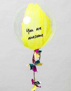 BURBUJA LIMA ¡PERSONALÍZALA! | UNELEFANTE Balloon Display, Balloon Backdrop, Balloon Centerpieces, Balloon Garland, Large Balloons, Giant Balloons, Welcome To The Party, Party In A Box, Office Birthday