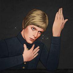 Bowie Forever - Helen Green Illustration