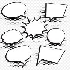 COMIC POW! Speech Bubble, Comic Book Explosion, Cartoon