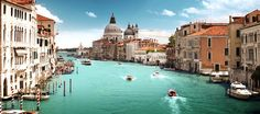 Photographic Print: Grand Canal and Basilica Santa Maria Della Salute, Venice, Italy by Iakov Kalinin : Grand Canal Venice, Venice Canals, Venice Italy, Oh The Places You'll Go, Places To Travel, Travel Destinations, Travel Europe, Travel Tips, Winter Destinations