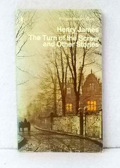The Turn of the Screw by Henry James vintage Penguin paperback classic stories Vintage Penguin, Graham Greene, Penguins, Turning, Classic, Painting, Ebay, Derby, Painting Art