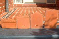 Terracotta Garden Edging Tiles California Google Search Pots Ideas
