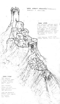 our vision of the dwarven village, just a teaser, wait for Fantasy Map Making, Fantasy City Map, Fantasy World Map, Fantasy Castle, Medieval Fantasy, Fantasy Art Landscapes, Fantasy Drawings, Fantasy Landscape, Dungeons And Dragons Homebrew