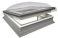 Find the lowest priced FAKRO DEC-C Z-Wave electric white pvc laminated dome flat roof windows. Roof Window, Flat Roof, Office Supplies, Windows, Glass, Bungalows, House, Electric, Home Decor