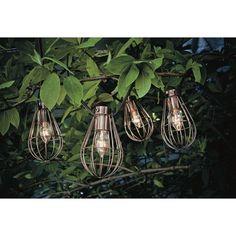 Smith & Hawken® Caged Lantern String Light : Target Mobile