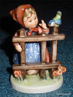 """Signs Of Spring"" Goebel Hummel Figurine CHRISTMAS GIFT - $0.99 Starting Bid!"