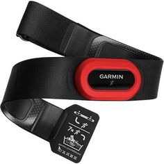 NEW Garmin HRM Run Heart Rate Monitor Red for 920xt Fenix 3 hr 735xt fitness etc