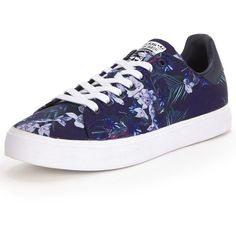 check out 7de0f eb0db Adidas Originals Stan Smith Vulc Trainers (1.021.775 IDR) ❤ liked on  Polyvore featuring shoes, sneakers, adidas originals, flower print shoes,  floral print ...