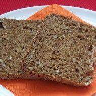 Fotografie receptu: Slunečnicový chléb z domácí pekárny Banana Bread, Food And Drink, Menu, Cooking, Recipes, Cupcakes, Basket, Diet, Menu Board Design