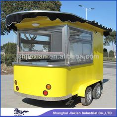 Source 2014 Stainless Steel Mobile Commercial Coffee Cart Convenient New Style Food Kiosk Mobile Food Carts for Sale CE on m.alibaba.com