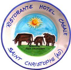 Valle d'Aosta - Piatto del Buon Ricordo Hotel Ristorante Casale - Saint Christophe (AO) - Scaloppa alla valdostana