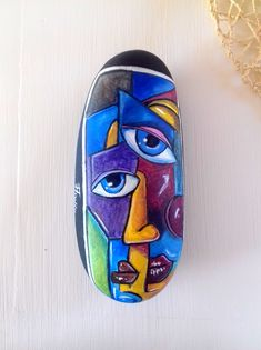 Picasso on stone Stone from #Arrifana #Portugal